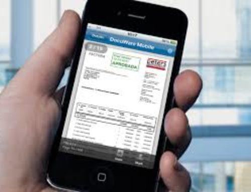 ¿Es válida una factura enviada por email?